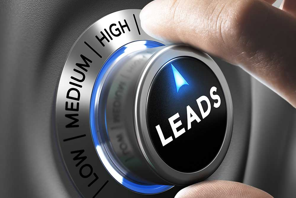 Turning the dial up to high for lead generation.